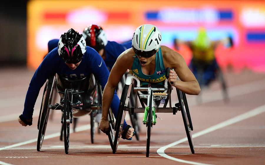 during day nine of the IPC World ParaAthletics Championships 2017 at London Stadium on July 22, 2017 in London, England.