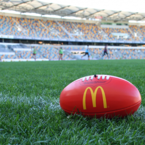 AFL and maccas